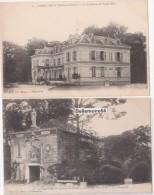 Cpa 91 Longjumeau Lot De 2 Cartes Le Château De Saint éloi- Et La Chapelle (non Circulé) - Longjumeau