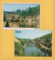 DINAN 22 ( LOT DE 2 CP )  BON ETAT  ! ! ! - Cartes Postales