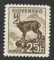 Slovakia, 25 H. 1940, Sc # 48, Mi # 74YA, MNH