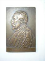Belle Médaille En Bronze Dédiée à Louis Lortet Doyen De La Faculté De Médecine De Lyon En 1902 - Frankrijk