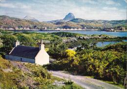 Lochinvar With Caniso & Suilven, Sutherland, Scotland - Dixon 504, Inverness Pictorial Postmark, 1971 - Sutherland