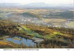 Aberfoyle, From Above The David Marshall Lodge, Scotland -  Whiteholme, Posted Glasgow 1995 - Stirlingshire
