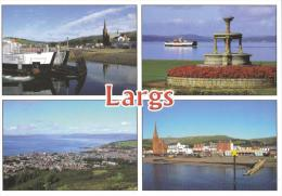 Largs, On The Firth Of Clyde, Scotland -  JBW 12029, Posted Glasgow 2010 - Ayrshire