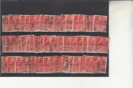 Exposition Coloniale N°272 50 Timbres Pour Variétés - Usados