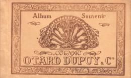 16 CARNET ALBUM SOUVENIR DE 10 CPA OTARD DUPUY ETABLISSEMENT COGNAC - Cognac