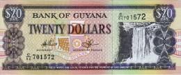 GUYANA 20 DOLLARS BANKNOTE 1996 AD PICK NO.30 UNCIRCULATED UNC - Guyana