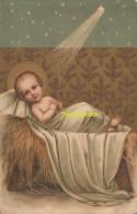 CPA LITHO ENFANT JESUS - Saints