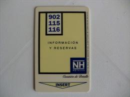 NH Hotels Keycard - Cartas De Hotels