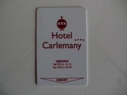 Hotel Carlemany Keycard - Hotelkarten