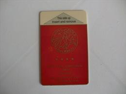 Hotel Dos Templarios Keycard - Hotelkarten