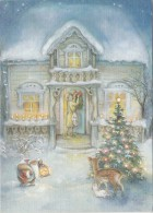 BF33625 Julforberedelser Av Lisi Martin  Painting  Art Front/back Image - Peintures & Tableaux