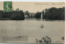 CPA 28  VILLEBON L ETANG ET LE CHATEAU 1916 - Courville
