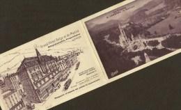 LOURDES Grand Hôtel Belge Et De Madrid (Voeux 1934 De Mrs Montéagudo) Hautes Pyrénées (65) - Lourdes