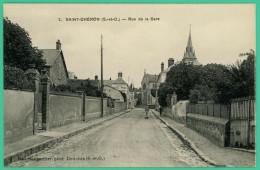 Saint Chéron - Essonne -  Rue De La Gare  - Animé - Saint Cheron