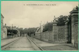 Saint Chéron - Essonne -  Route De Baville  - - Saint Cheron