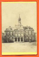 """CDV Grande Photographie """"  La Mairie De Chaumont 1889 """"  165 Mm X 109 Mm - Photos"""