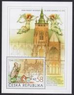 CZECH CESKA 2014 St. Vitas Cathedral, Souvenir Sheet MNH (Specimen) - Blocks & Kleinbögen