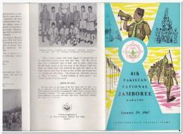 Pakistan 1967, 4th Jamboree, Scouting - Pakistan