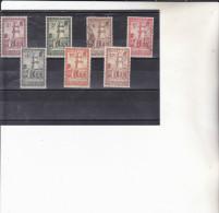 COTE DES SOMALIS : Y&T:  O Et *  : 148 à 151-153-154-170 - Costa Francese Dei Somali (1894-1967)