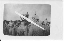 Le Kaiser Et Le Kronprinz Sur Le Front 1 Carte Photo 1914-1918  14-18 Ww1wwI Wk - War, Military