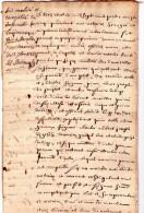 Marche 1785 Pour Liège - Seigneur De Grady (12 Pages) - Manoscritti
