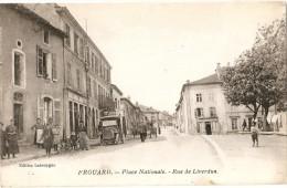 Frouard    Place Nationale   Rue De Liverdun - Frouard