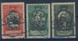 Liechtenstein Nr. 54 / 55 / 58 gestempelt used