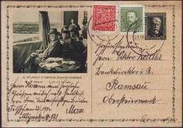 CZECHOSLOVAKIA - DELNICKA OLYMPIADA - SPORT - POST CARD - 1934 - Cartoline Postali
