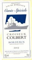 Etiquette De Vin Neuve (autocollante) Du Croiseur Colbert - Postmark Collection (Covers)