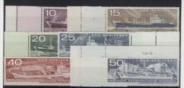 Lot DDR Michel No. 1693 - 1698 ** postfrisch / No. 1696 - 1697 Ra Ri , No. 1693, 1694, 1698 Ri Ra , No. 1695 Ra