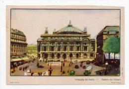 Buvard - Visages De Paris II - Théâtre De L'Opéra - Cinéma & Theatre