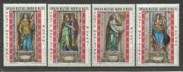 SMOM 1974, Virtù Cardinali (**), Serie Completa - Malta (la Orden De)