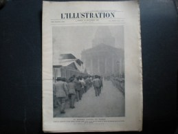 L'illustration, 29/11/1924, Le Dernier Cortège Du Tribun (jaurès)    C - Livres, BD, Revues