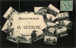 N°54 QQ  SOUVENIR DE LA GUERCHE CARTE MULTIVUES - La Guerche-de-Bretagne