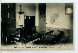 88 BRUYERES En VOSGES Carte Rare  Salle De Classe Tableau Noir  Institution Jeanne D'Arc   /D18-2014 - Bruyeres