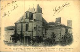 N°66 QQ  LE POIRE SUR VIE CHATEAU DE PONT DE VIE - Poiré-sur-Vie