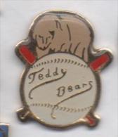 Baseball , Teddy Bears  , Ours - Honkbal