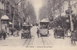 Transports -  Tramway - Automobile - Nice - Tramways