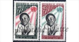 -Sénégal  313/14** - Senegal (1960-...)