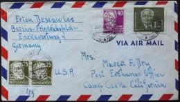 3271. German Democratic Republic 1951 Post Card Used