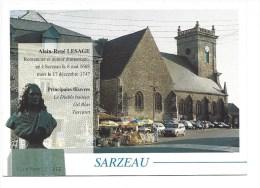 CPM - SARZEAU (56) Pays Natal D'Alain René LESAGE - Sarzeau