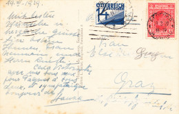 YUGOSLAVIA-AUSTRIA 1929 ,PORTO AT DESTINATION - 1918-1945 1. Republik