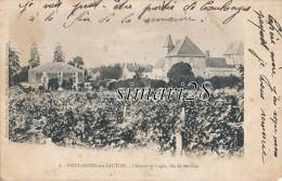 COULONGES-SUR-L'AUTIZE - N° 6 - CHATEAU ET LOGIS - VUS DE DERRIERE - Coulonges-sur-l'Autize