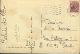 GRACCIANO SIENA VIA SIENA-PERUGIA VG. 1972 ACQUARELLATA