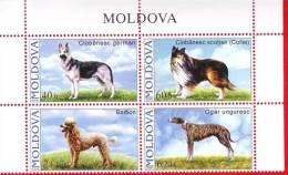 Moldova, Moldawien, Moldavie, Complete Series, Pedigree Dogs, 2006 - Chiens