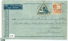 LP * NEDERLANDS-INDIE * BRIEFOMSLAG Uit 1933 Van PENGALENGAN BANDOENG Naar UTRECHT  (9185) - Niederländisch-Indien