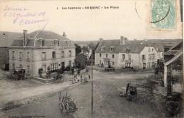 SORNAC LA PLACE ENFANTS CAFE AU POMPIER 1906 - Unclassified