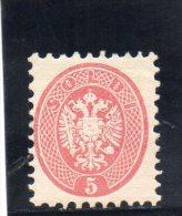 AUTRICHE 1863-4 *