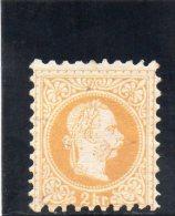 AUTRICHE 1867-80 * IMPRESSION GROSSIERE