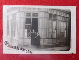 CAFE ACHARD CARTE PHOTO - Autres